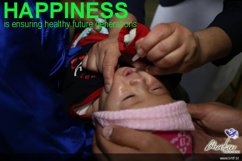 Happiness is ensuring healthy future generations