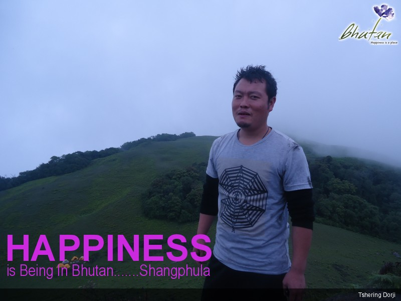 Happiness is Being In Bhutan.......Shangphula