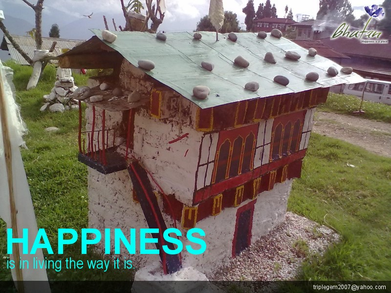 Happiness is in living the way it is.