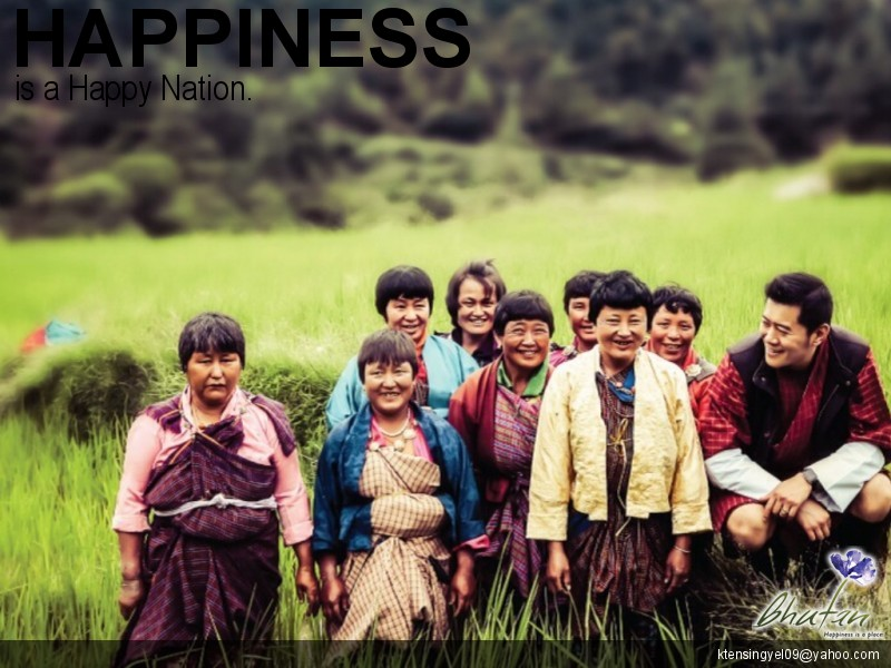 Happiness is a Happy Nation.