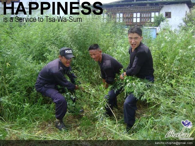 Happiness is a Service to Tsa-Wa-Sum