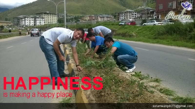 Happiness is making a happy place