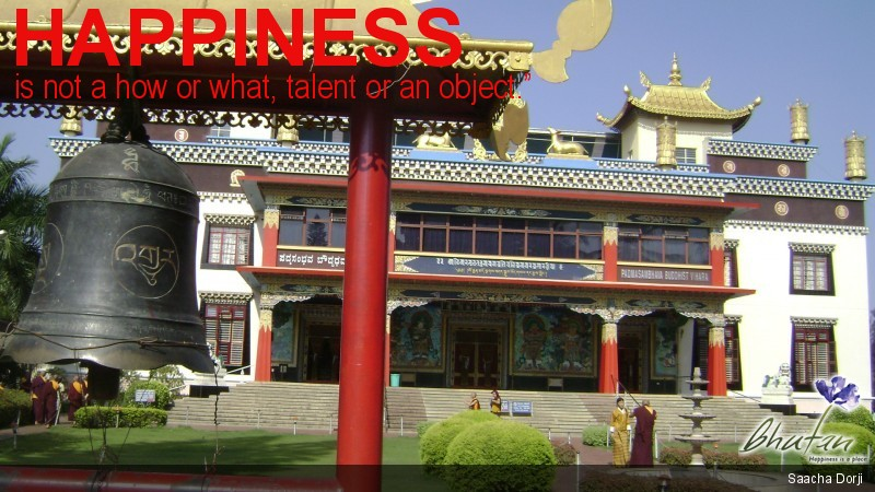 """Happiness is not a how or what, talent or an object."""""""