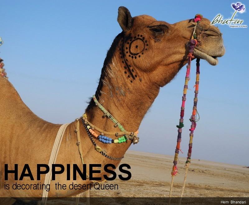 Happiness is decorating  the desert Queen