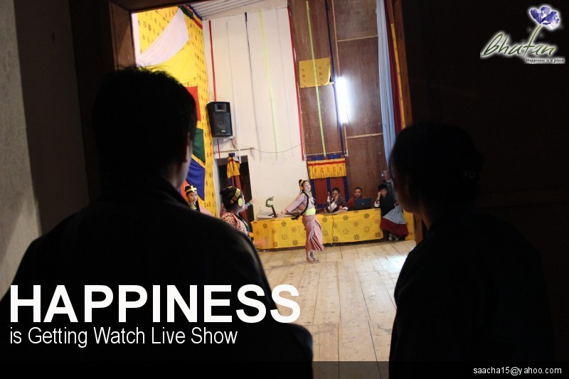 Happiness is Getting Watch Live Show