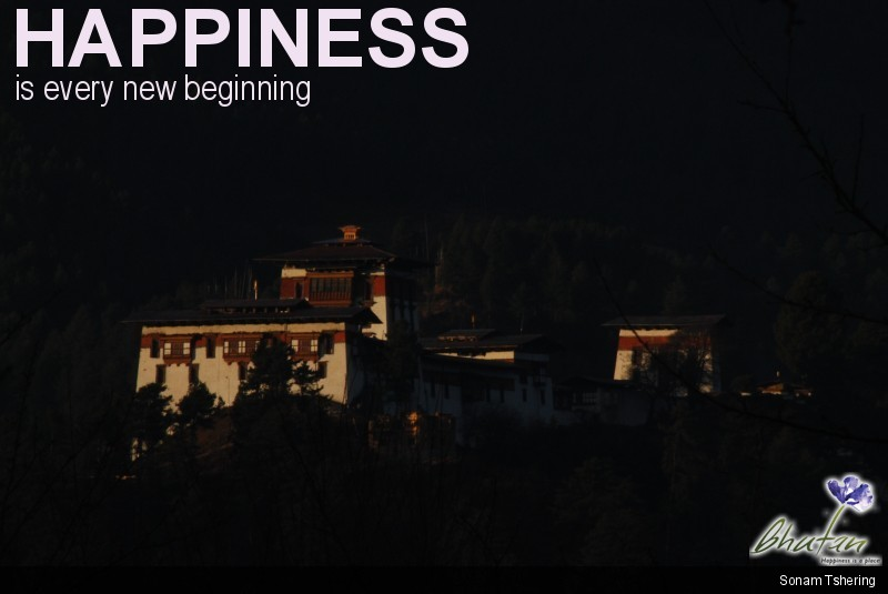 Happiness is every new beginning