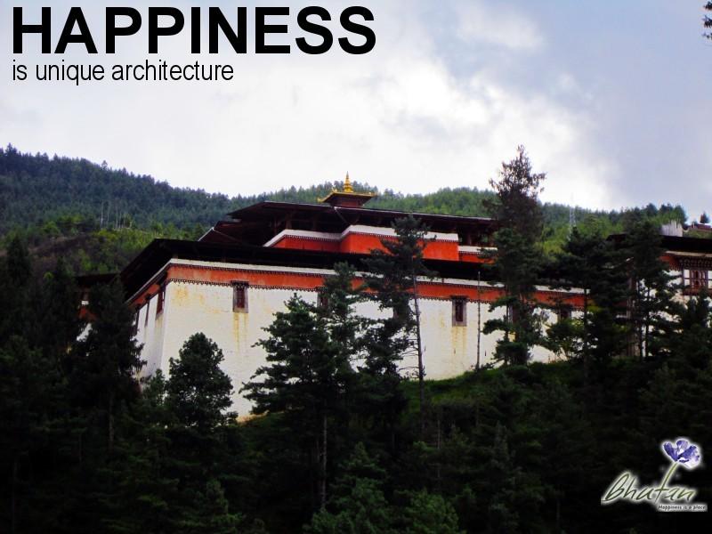 Happiness is unique architecture