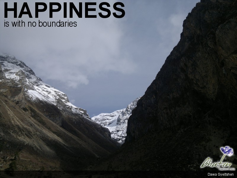 Happiness is with no boundaries