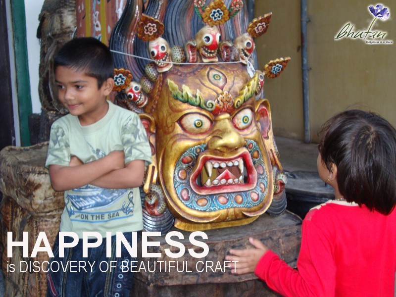 Happiness is DISCOVERY OF BEAUTIFUL CRAFT