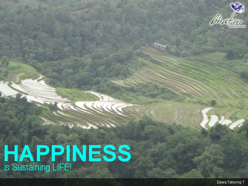 Happiness is Sustaining LIFE!