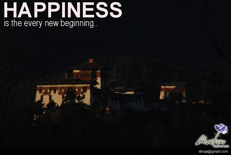 Happiness is the every new beginning..