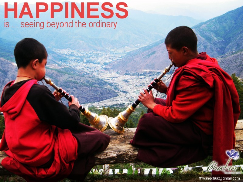 Happiness is ... seeing beyond the ordinary