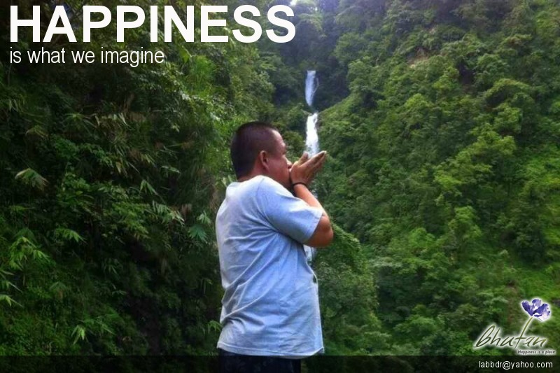 Happiness is what we imagine