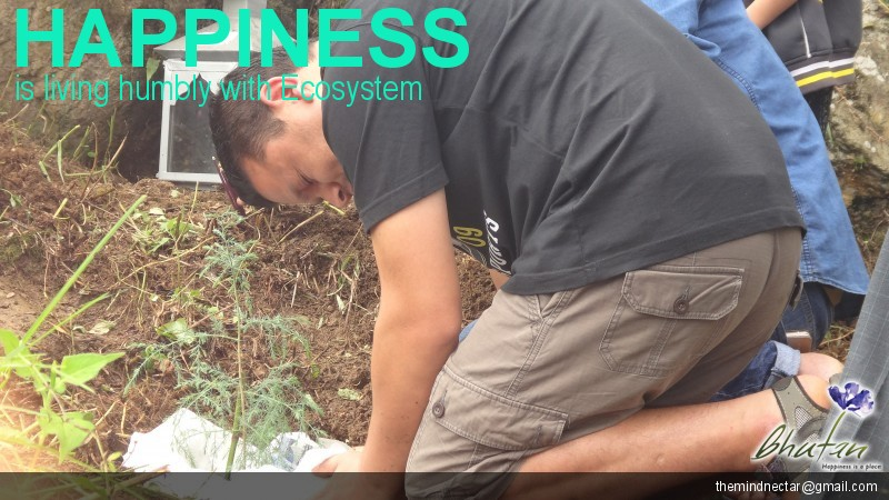 Happiness is living humbly with Ecosystem