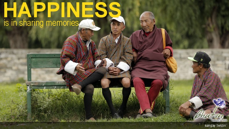 Happiness is in sharing memories