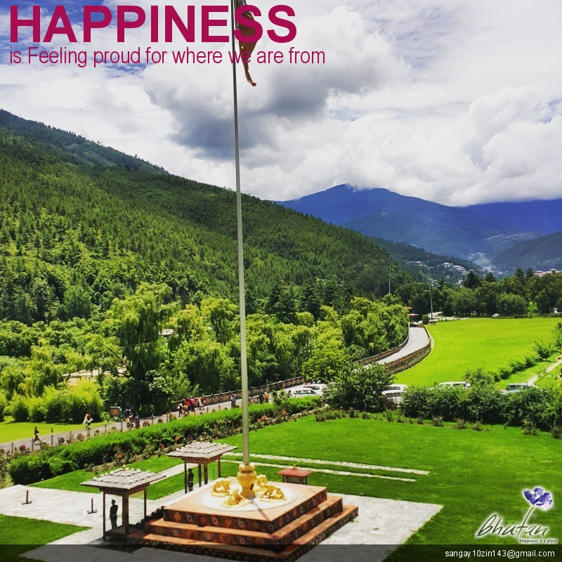 Happiness is Feeling proud for where we are from