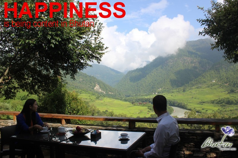 Happiness is being content in Bhutan