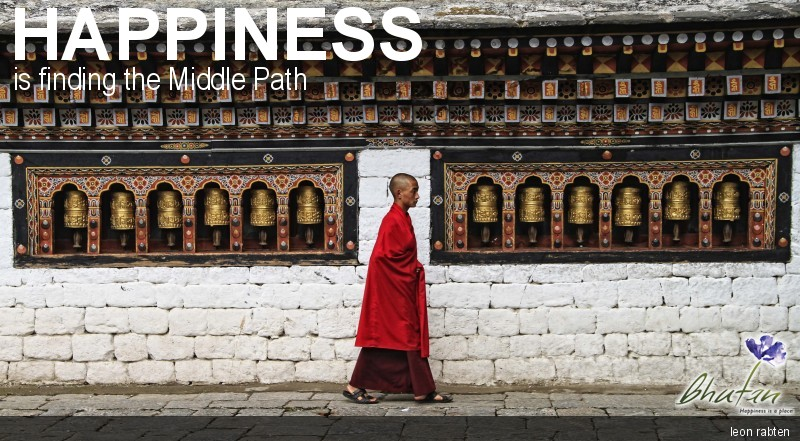 Happiness is finding the Middle Path