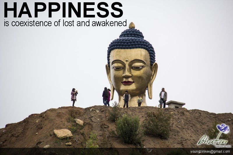 Happiness is coexistence of lost and awakened