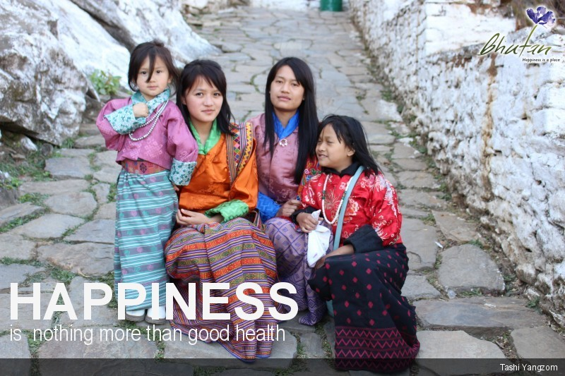 Happiness is  nothing more than good health