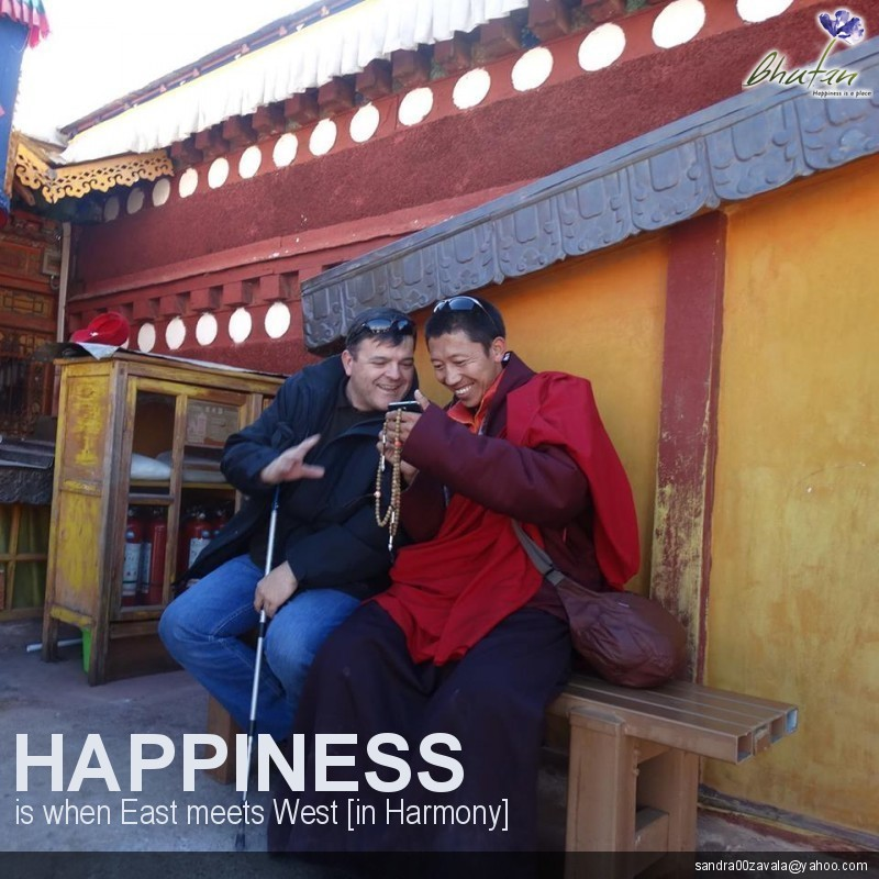 Happiness is when East meets West [in Harmony]