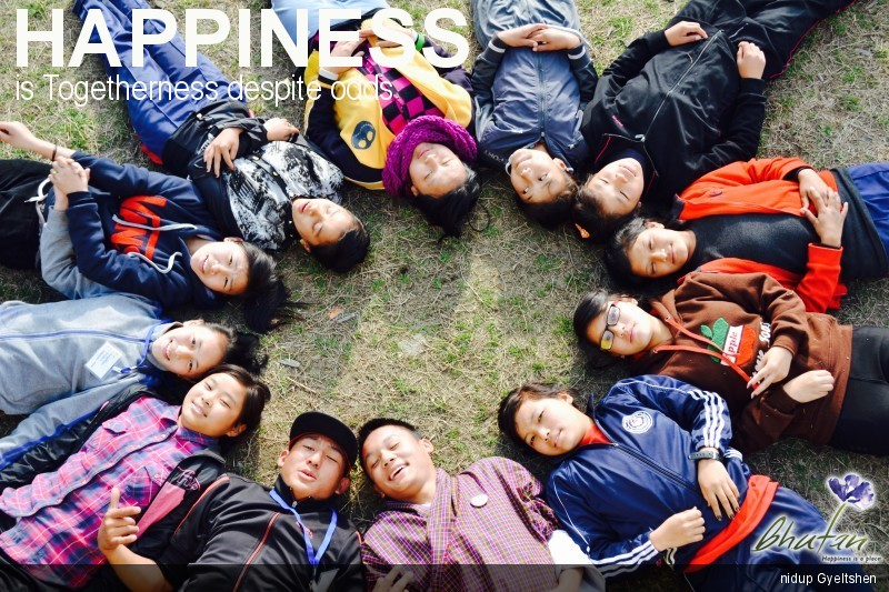 Happiness is Togetherness despite odds
