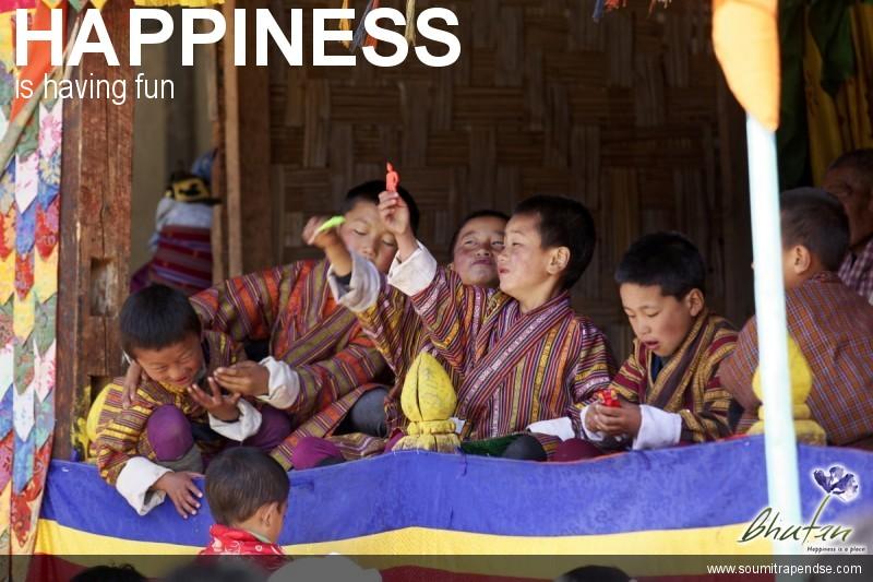 Happiness is having fun