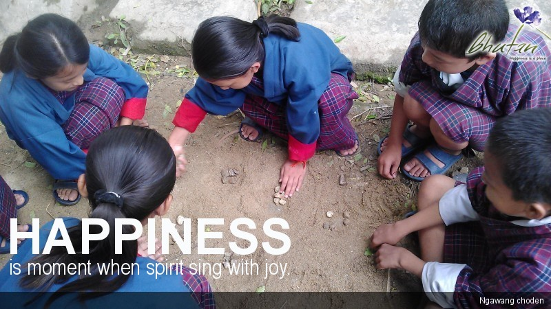 Happiness is moment when spirit sing with joy.