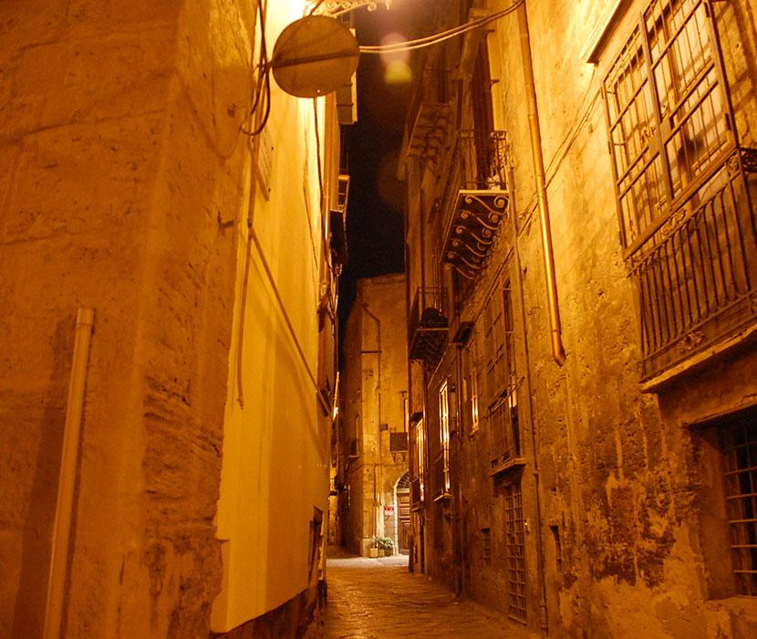 Sicile - rue de Palerme