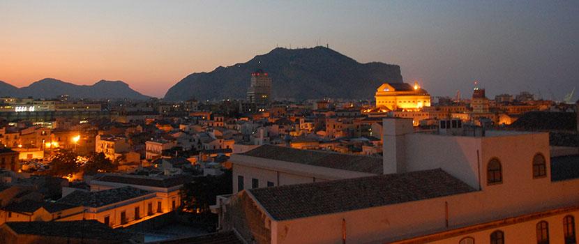 Sicile - Les toits de Palerme