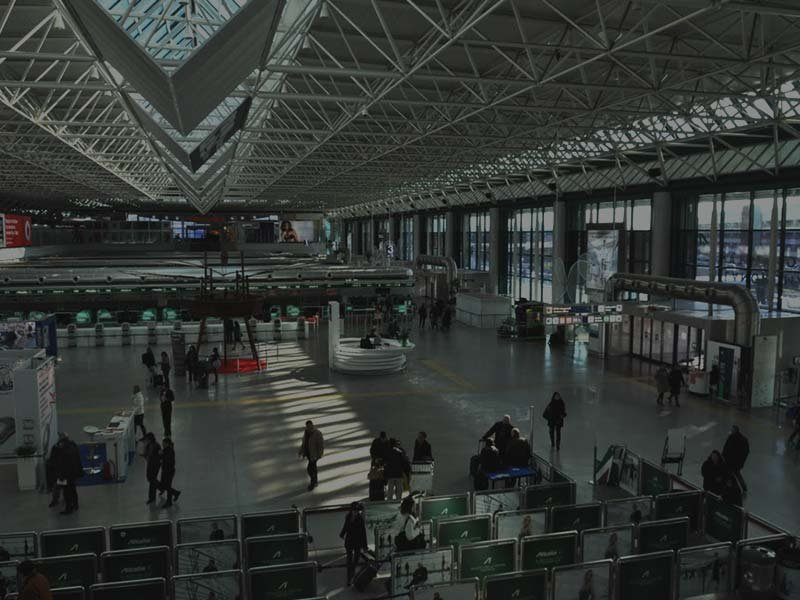 Aeropuerto de Roma - Fiumicino