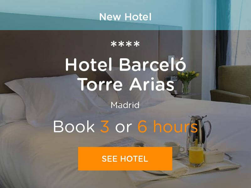 Book hotel hours in Hotel Barcelo Torre Arias