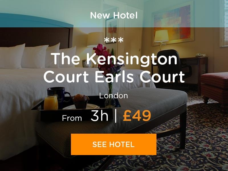 Hotel hours at Kensington Court Earls Court