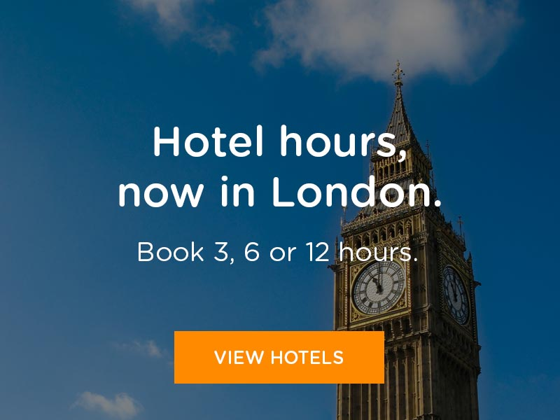 Book hotel hours in London
