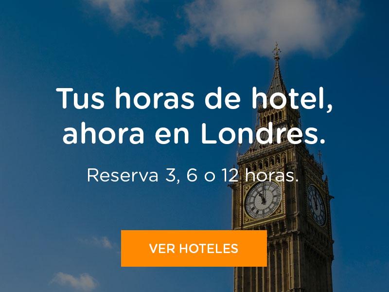 Reserva horas de hotel en Londres
