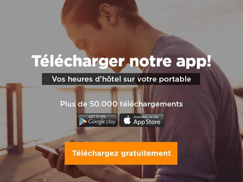 Télécharger notre app