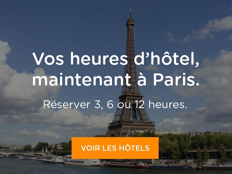 Heures d'hôtel à Paris