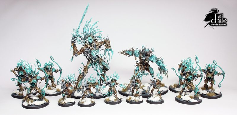 Sylvaneth Winter Army