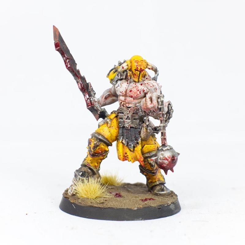 Slaughterpriest with sword and flail