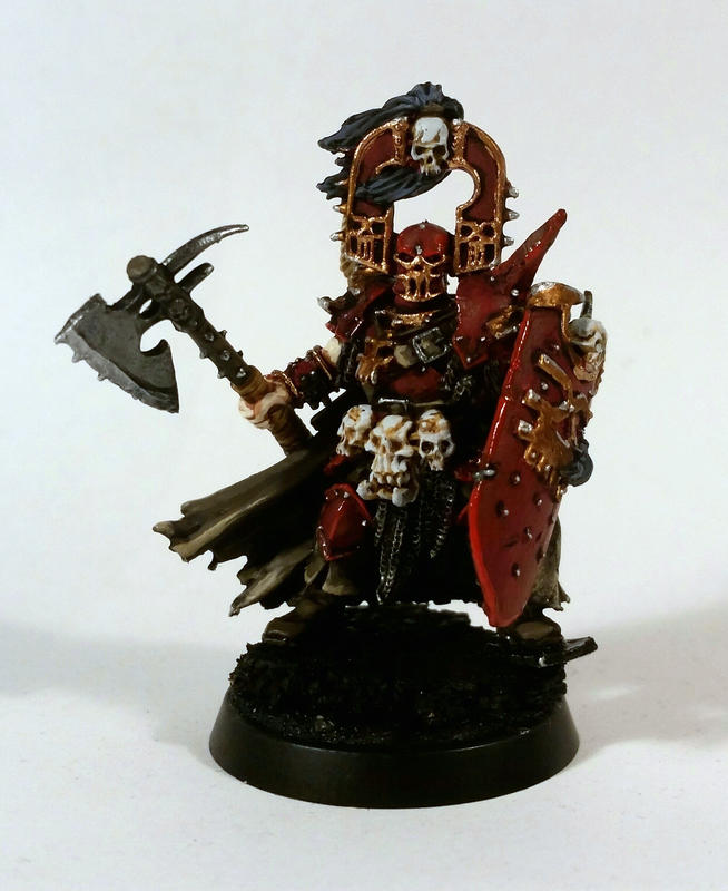 Exalted Deathbringer with Bloodbite Axe