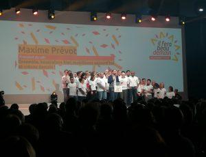 Les coordinateurs du mouvement durant le congrès