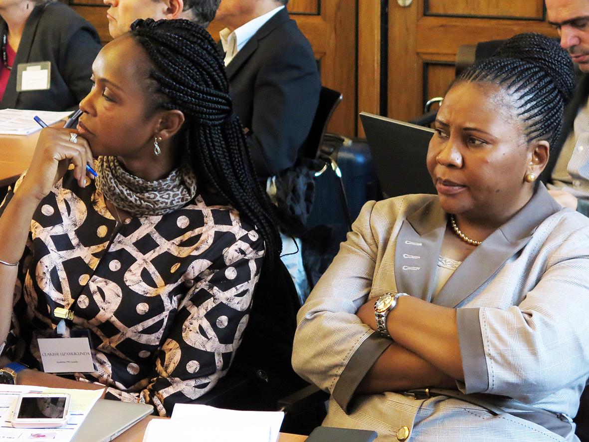 Clarisse Uzamukunda & Fatuma Mganga