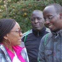 Kévine Laure Nkaghere Mbuembue, Olivier Basenya et Manassé Nimpagaritse