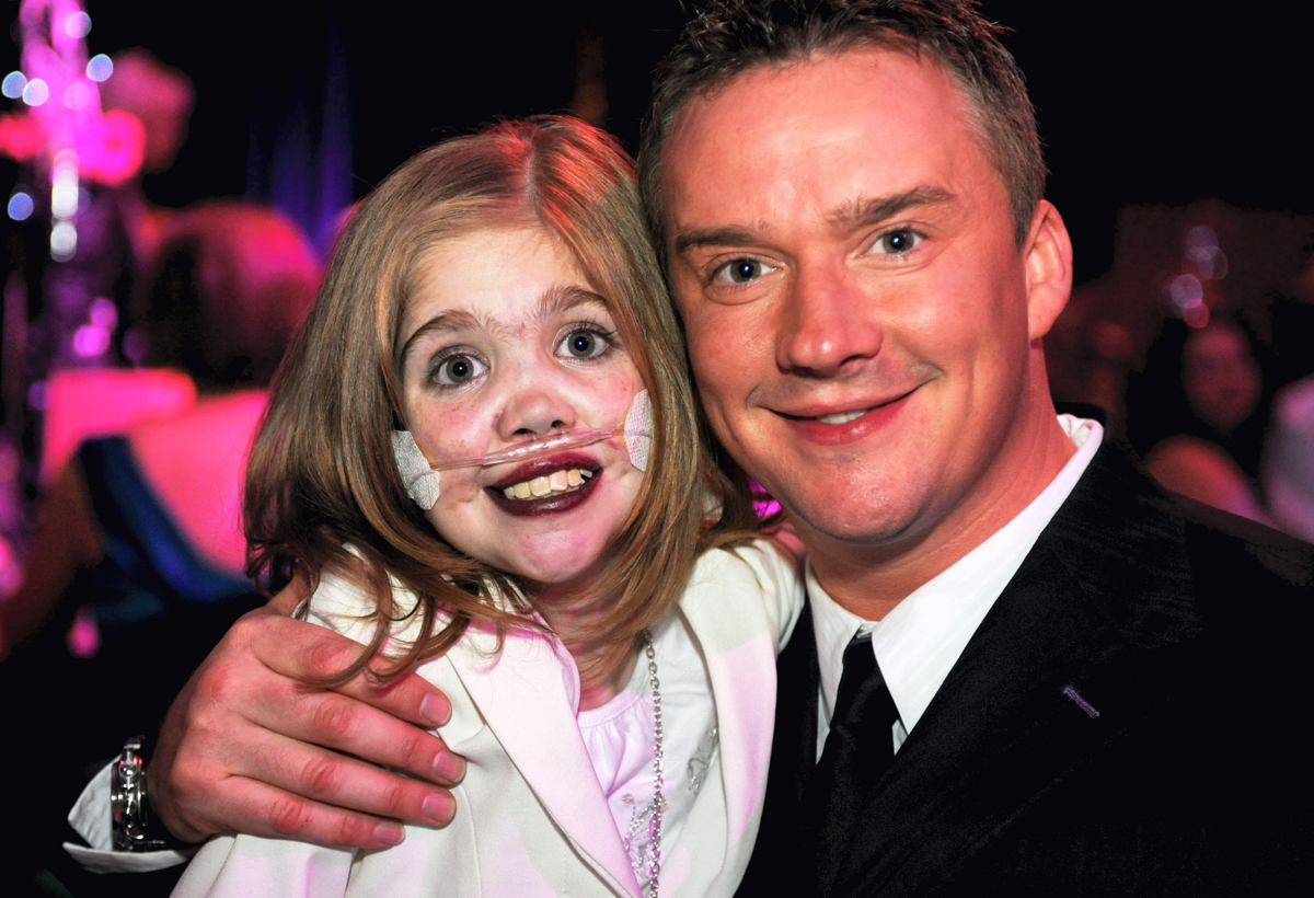 Singer Russell Watson with Kirsty