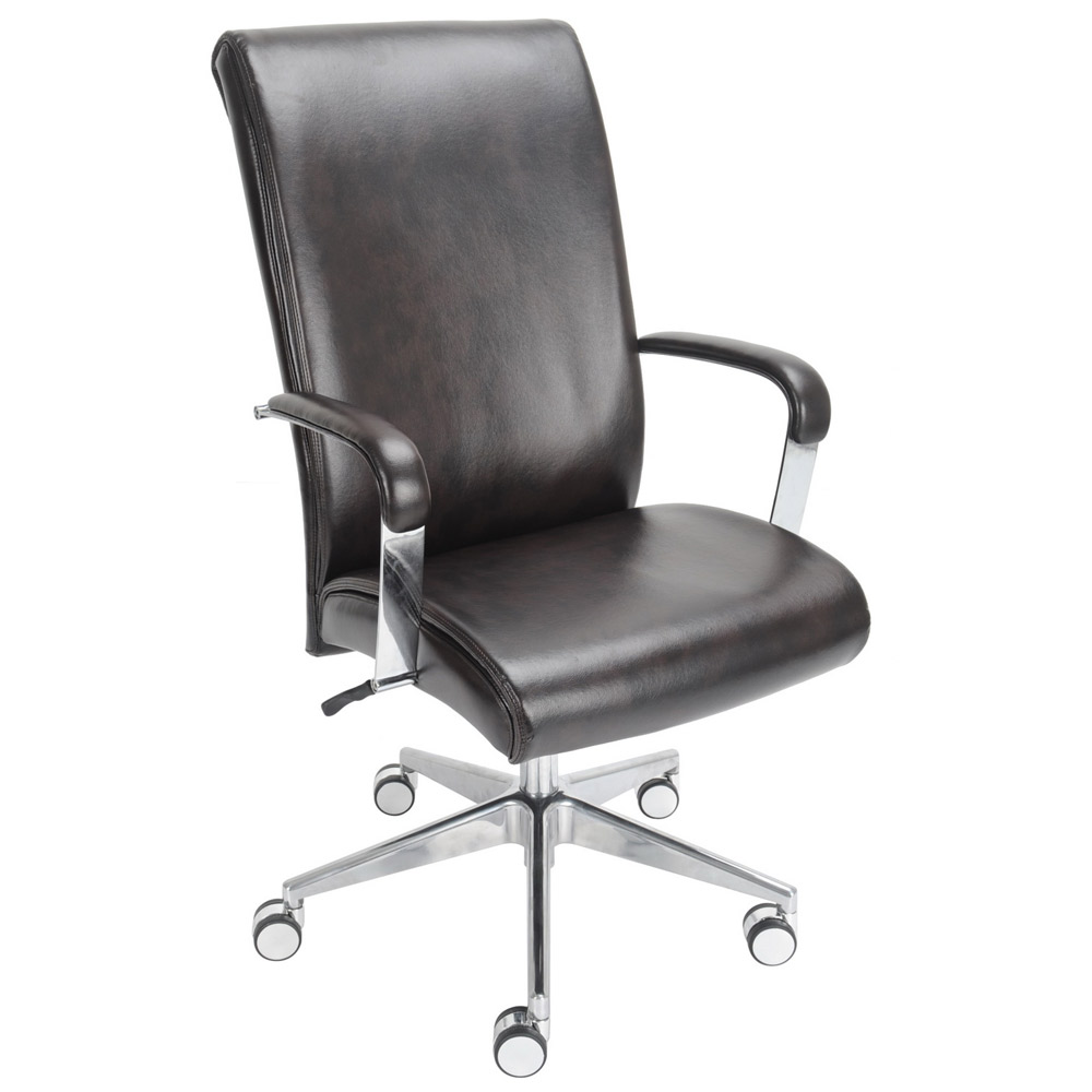 lane office chair leather brown office chairs
