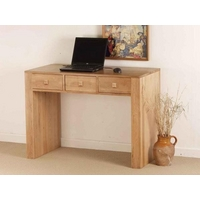 Image of: Nero Small Solid Oak Desk