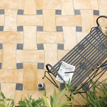 Image of: Patio Slab Kit - Woven - 6.30m2