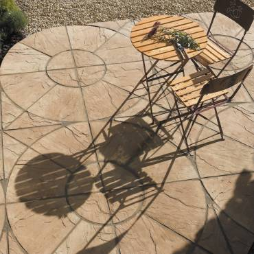 Image of: Patio Slabs - Old Riven Autumn Cotswold - 16.30m2