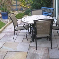 Image of: Paving Patio Slabs - Natural Sandstone Heather Ridge - 15.30m2