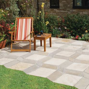 Image of: Paving Patio Slabs - Optique Autumn Green - 11.30m2